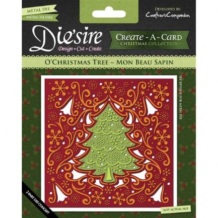 DS-CADX-TREE ~ O'CHRISTMAS TREE ~ Create-A-Card by Crafter's Companion